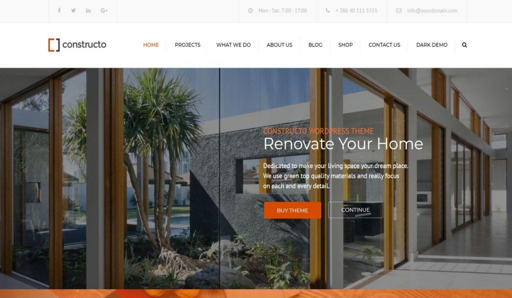constructo-wordpress theme for construction company
