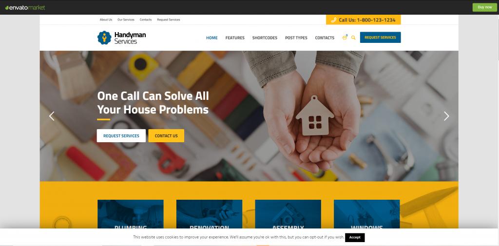 Handyman Services – Construction, Building & Renovation