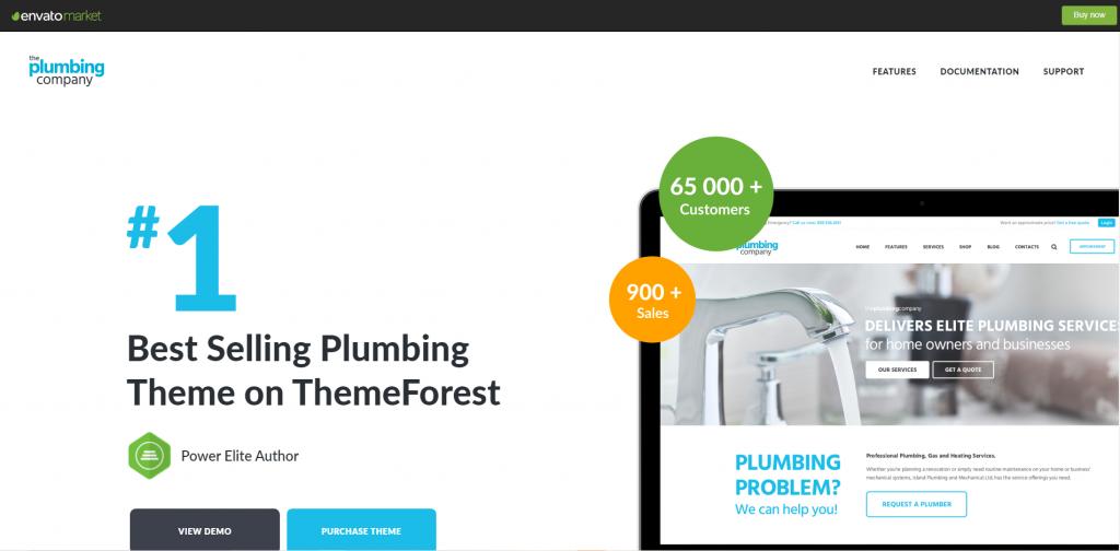 Plumbing-repair,building and construction wordpress theme