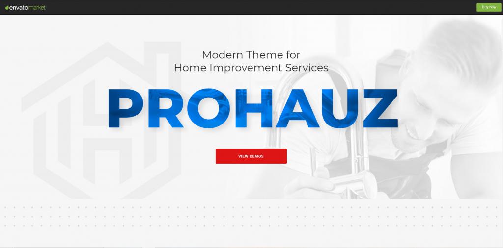 ProHauz- wordpress theme for plumbing