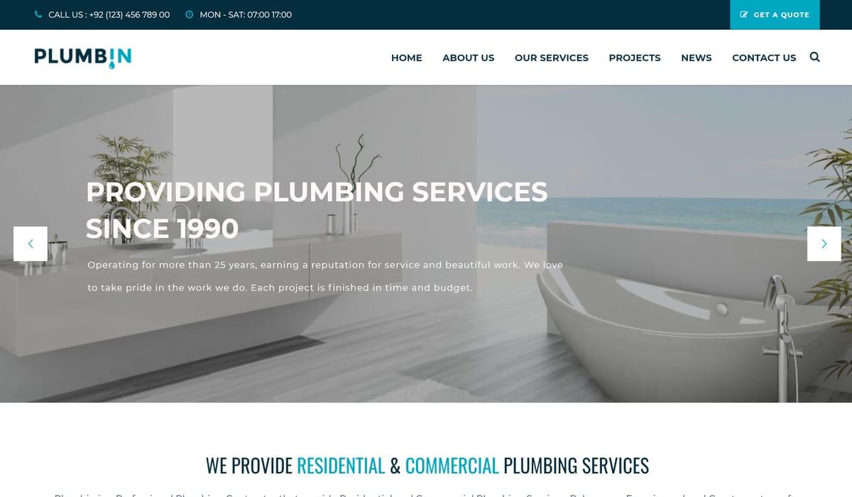plumbin demo screenshot