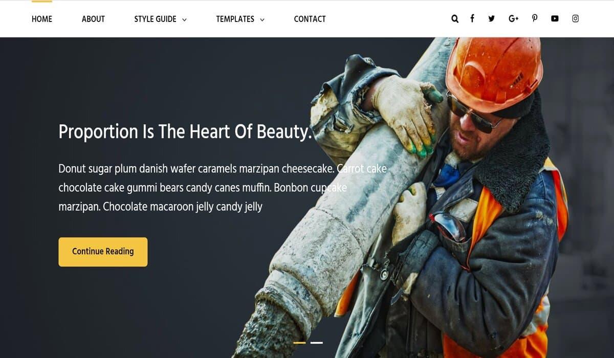 SolidConstruction-Free construction wordpress theme