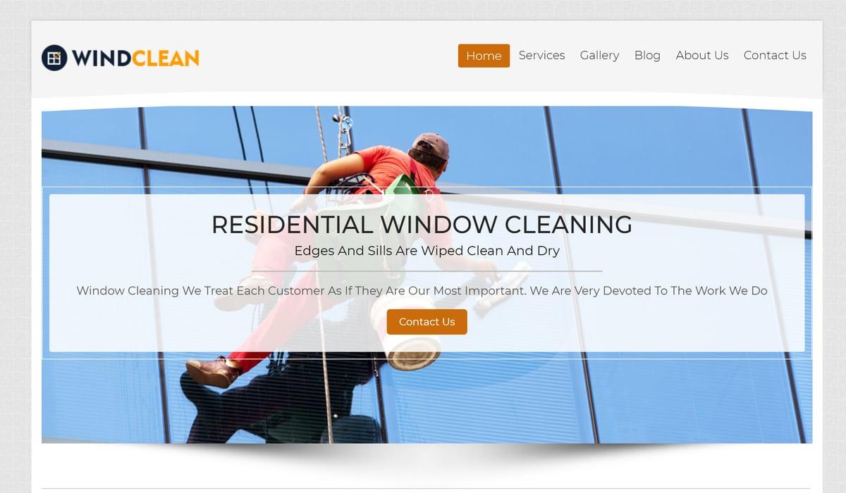 Winclean- Cleaning WordPress Theme