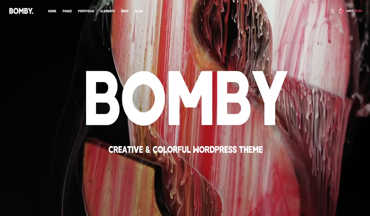 bomby multipurpose wordpress business themes