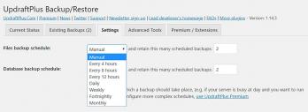 How to backup wordpress website?