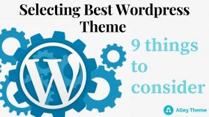 How to choose wordpress theme