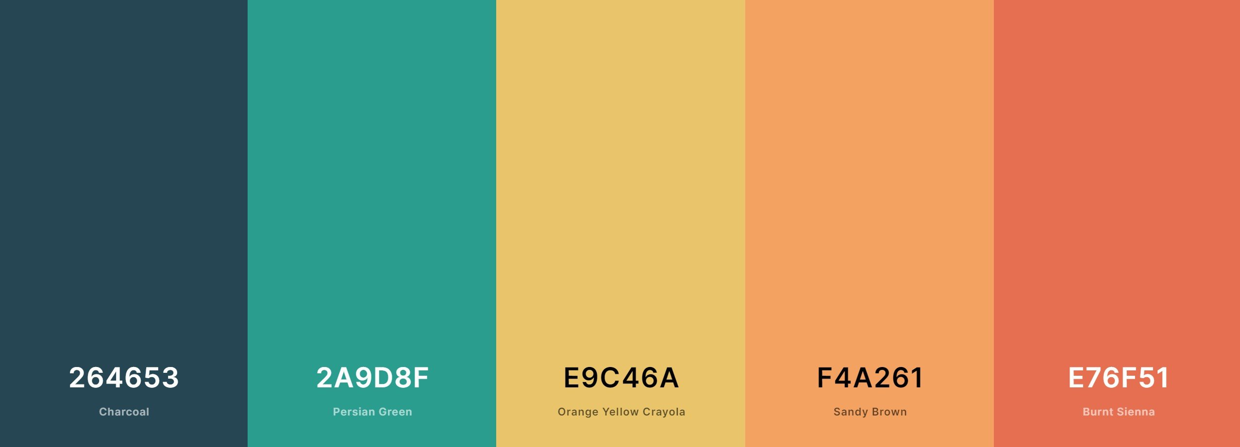 Use complementary colors on your website